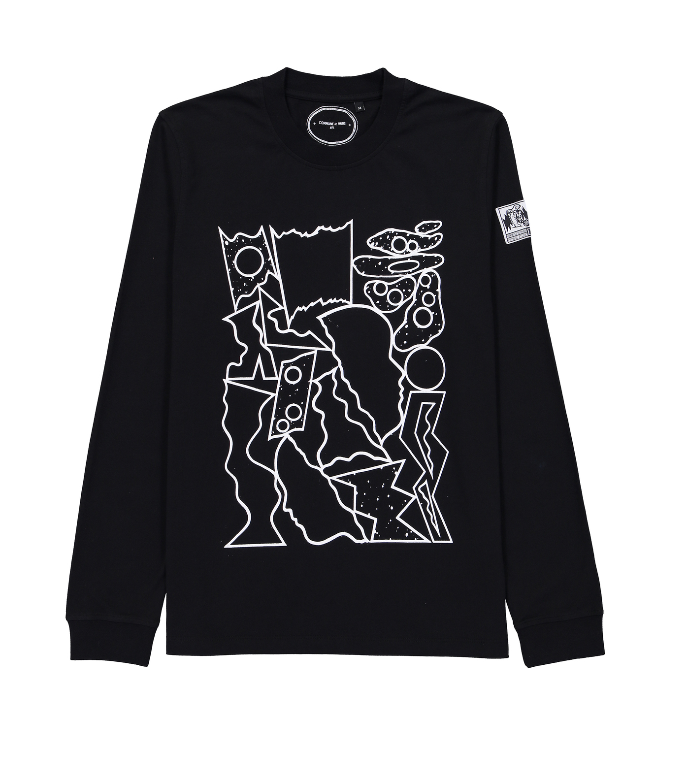 LONG SLEEVES CHAOS - Black
