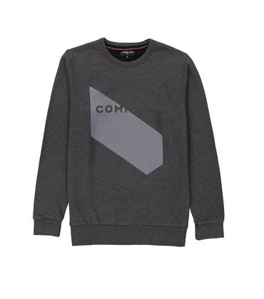 SWEAT BLASON COMMUNE - Dark grey
