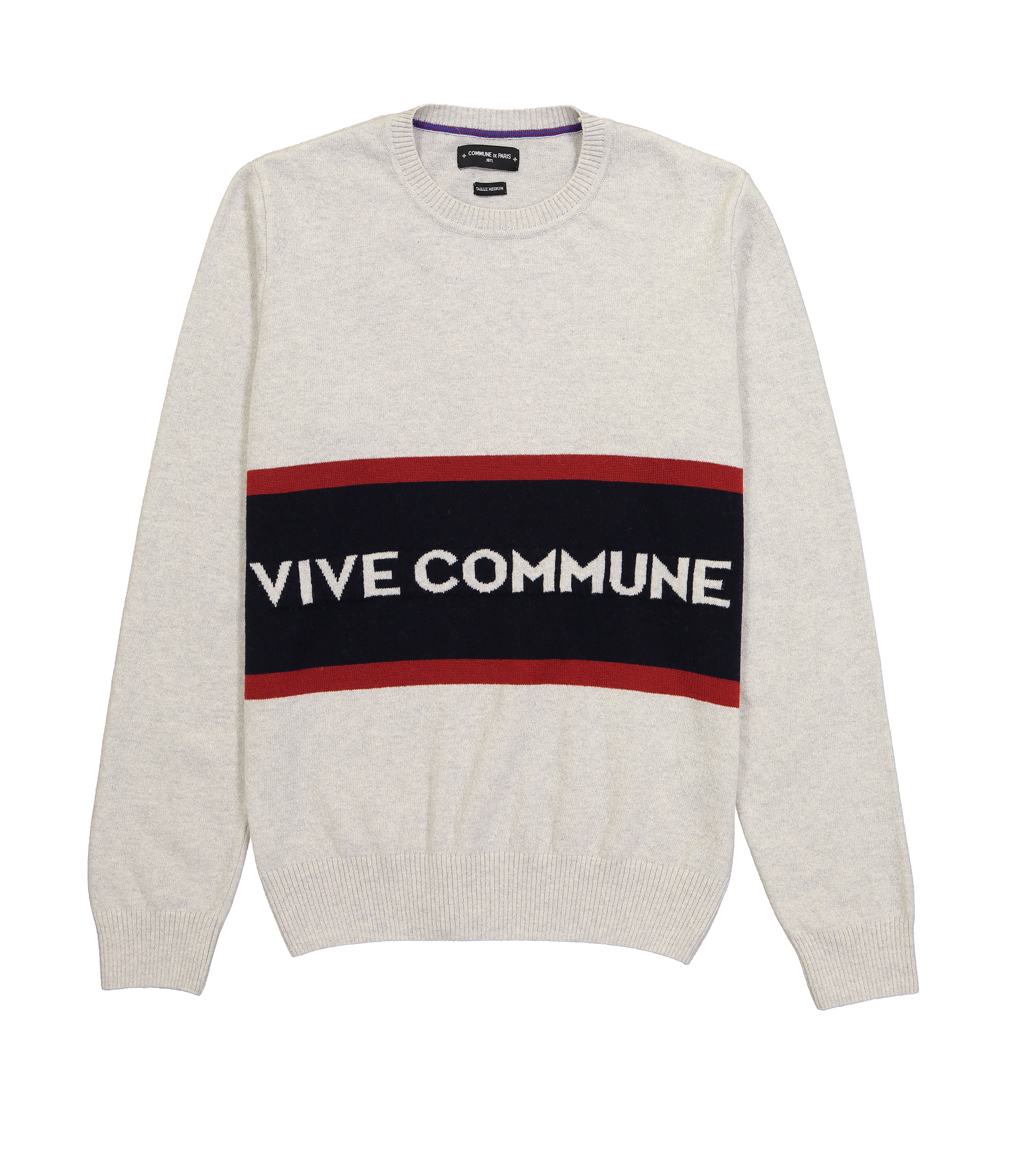 PULL VIVE COMMUNE - Marl grey