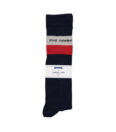 HIGH SOCKS VIVE COMMUNE - Navy
