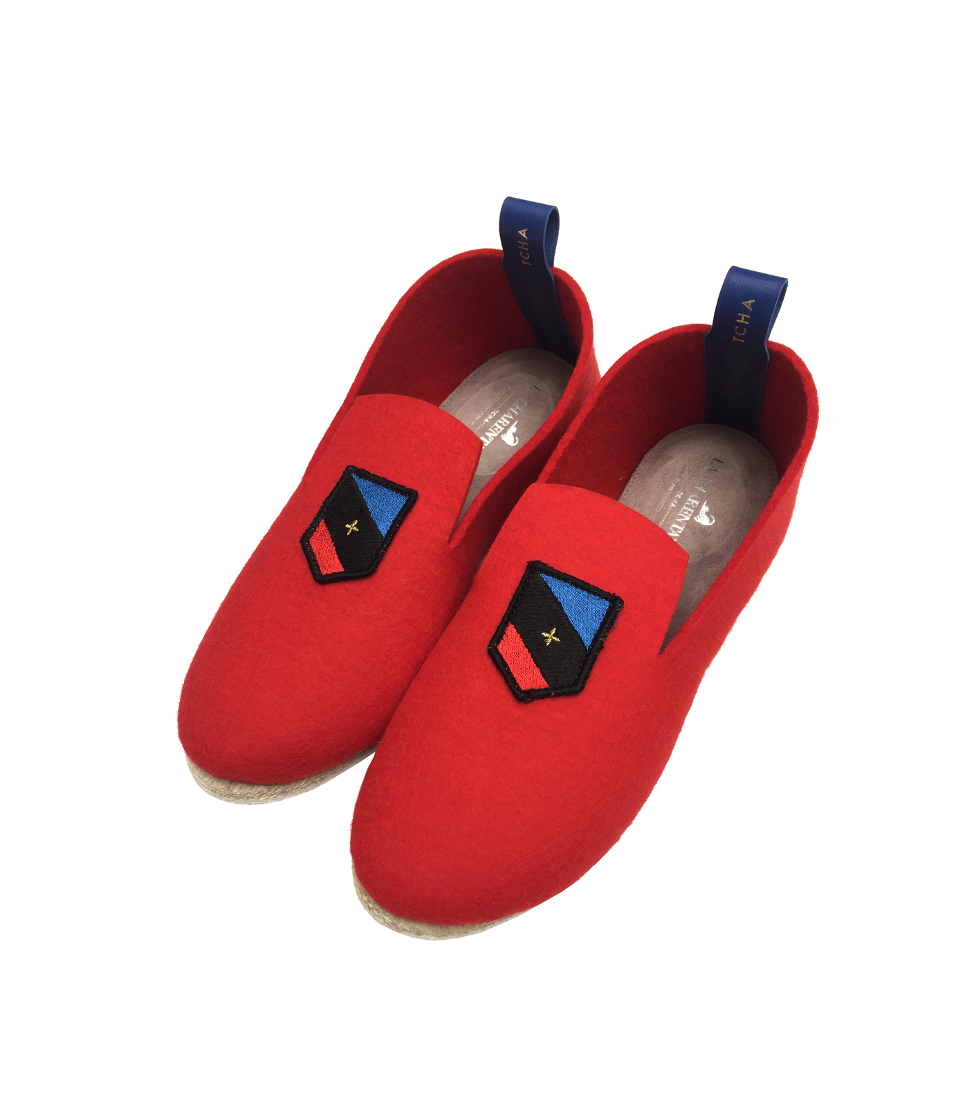 SLIPPERS COMMUNE - Red