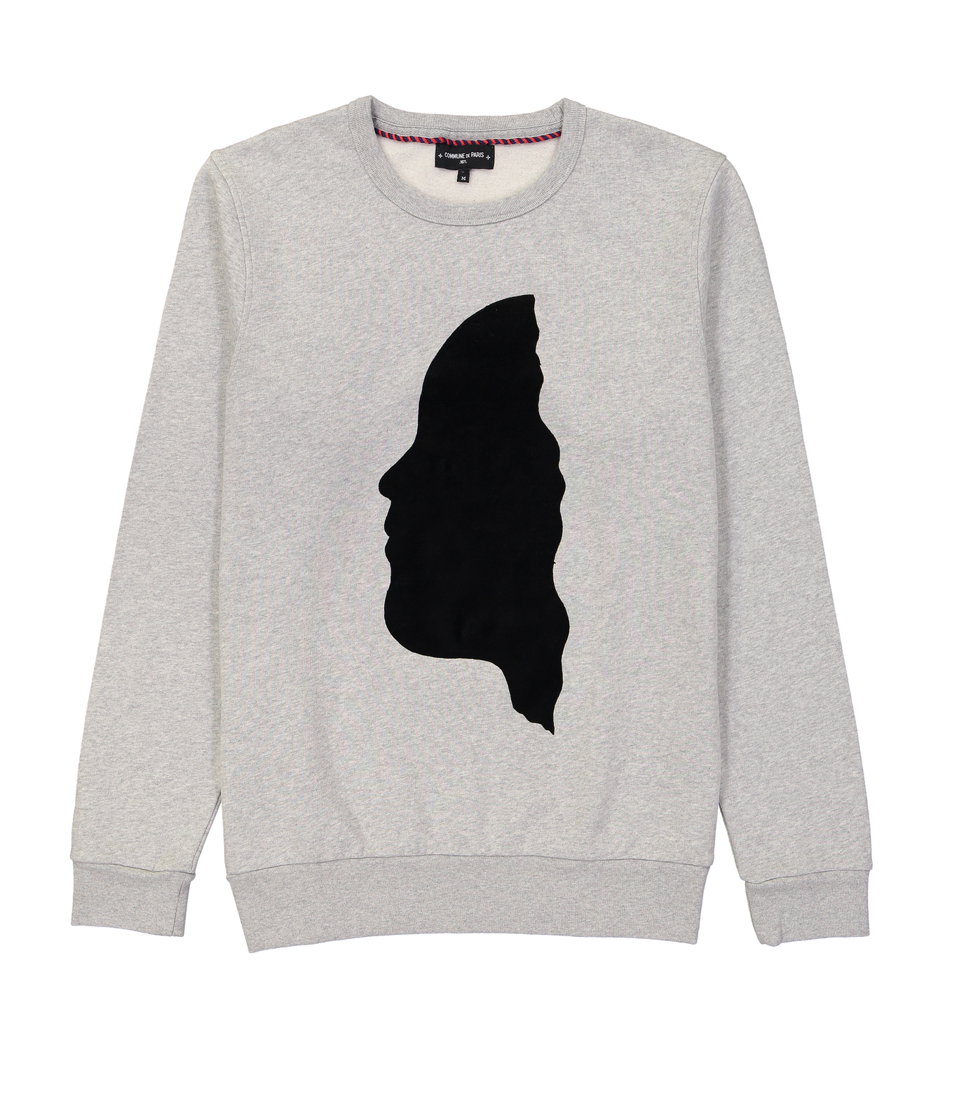SWEAT VISAGE - Gris chine