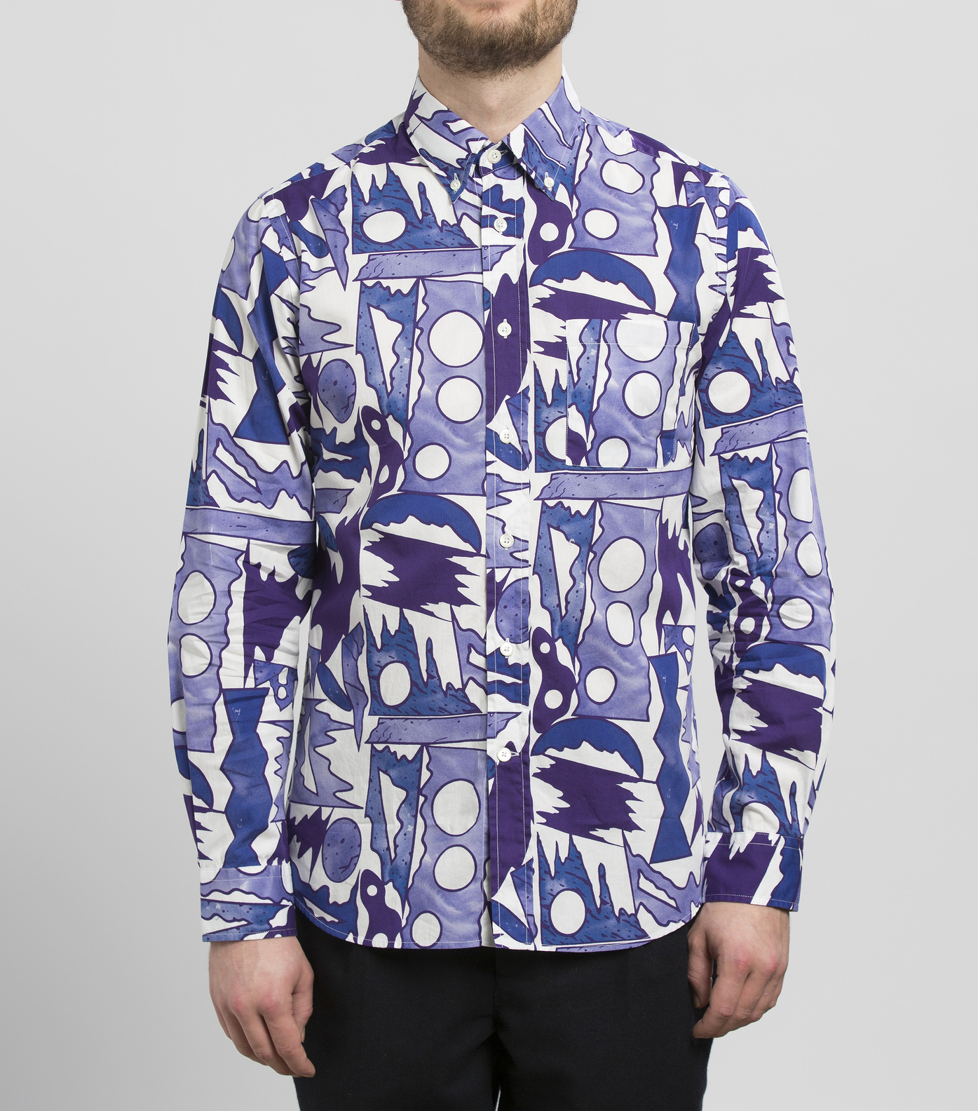 SHIRT EUDES - Color piningre