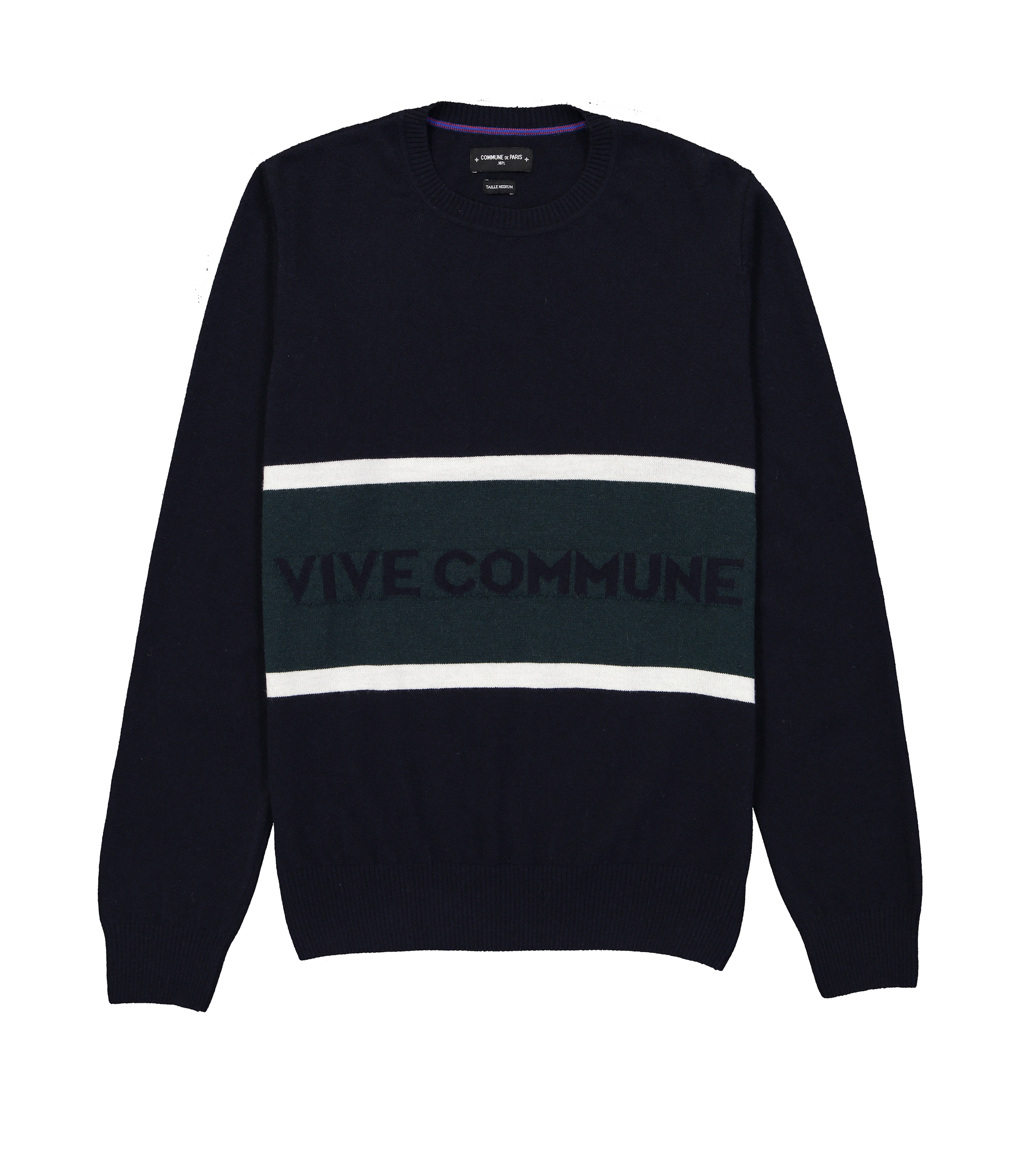 PULL VIVE COMMUNE - Navy