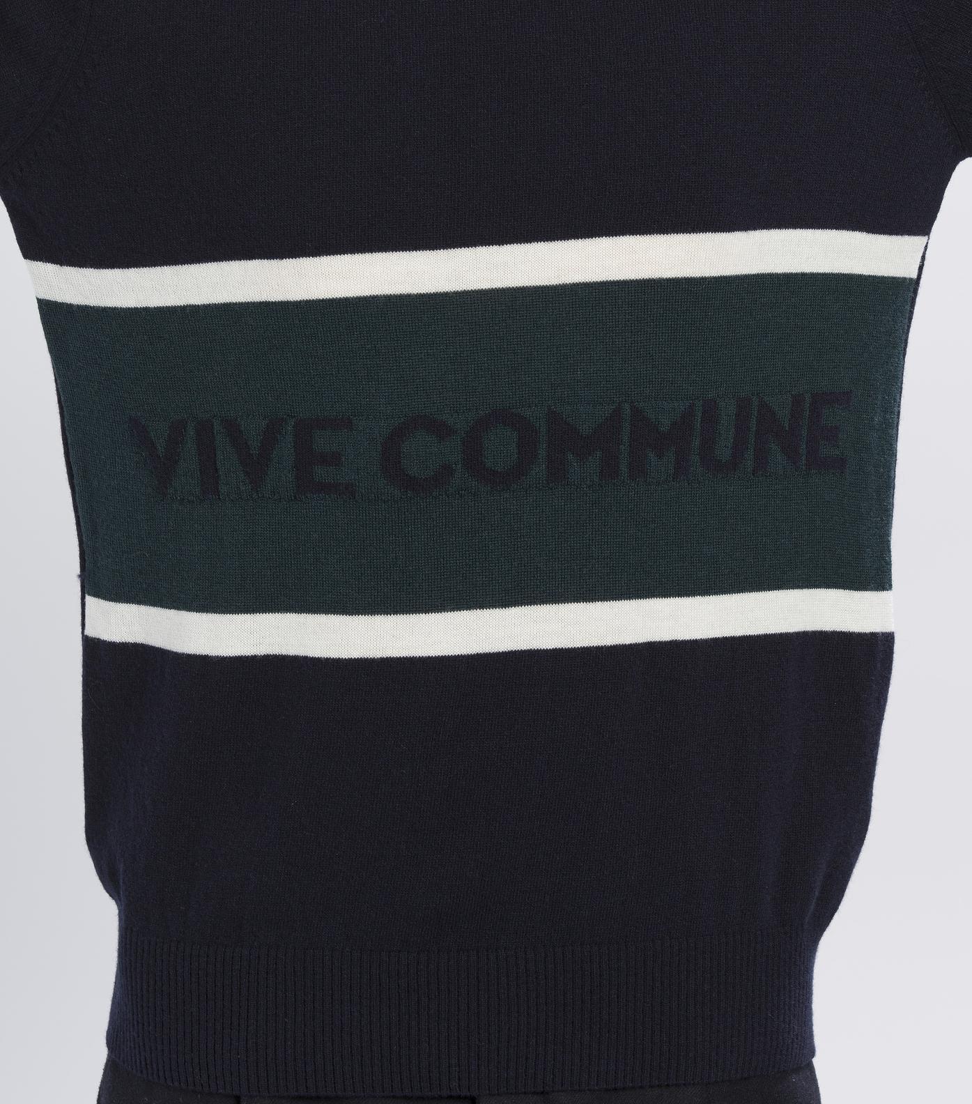 PULL VIVE COMMUNE - Navy