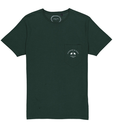 TEE FLAG  - Dark green