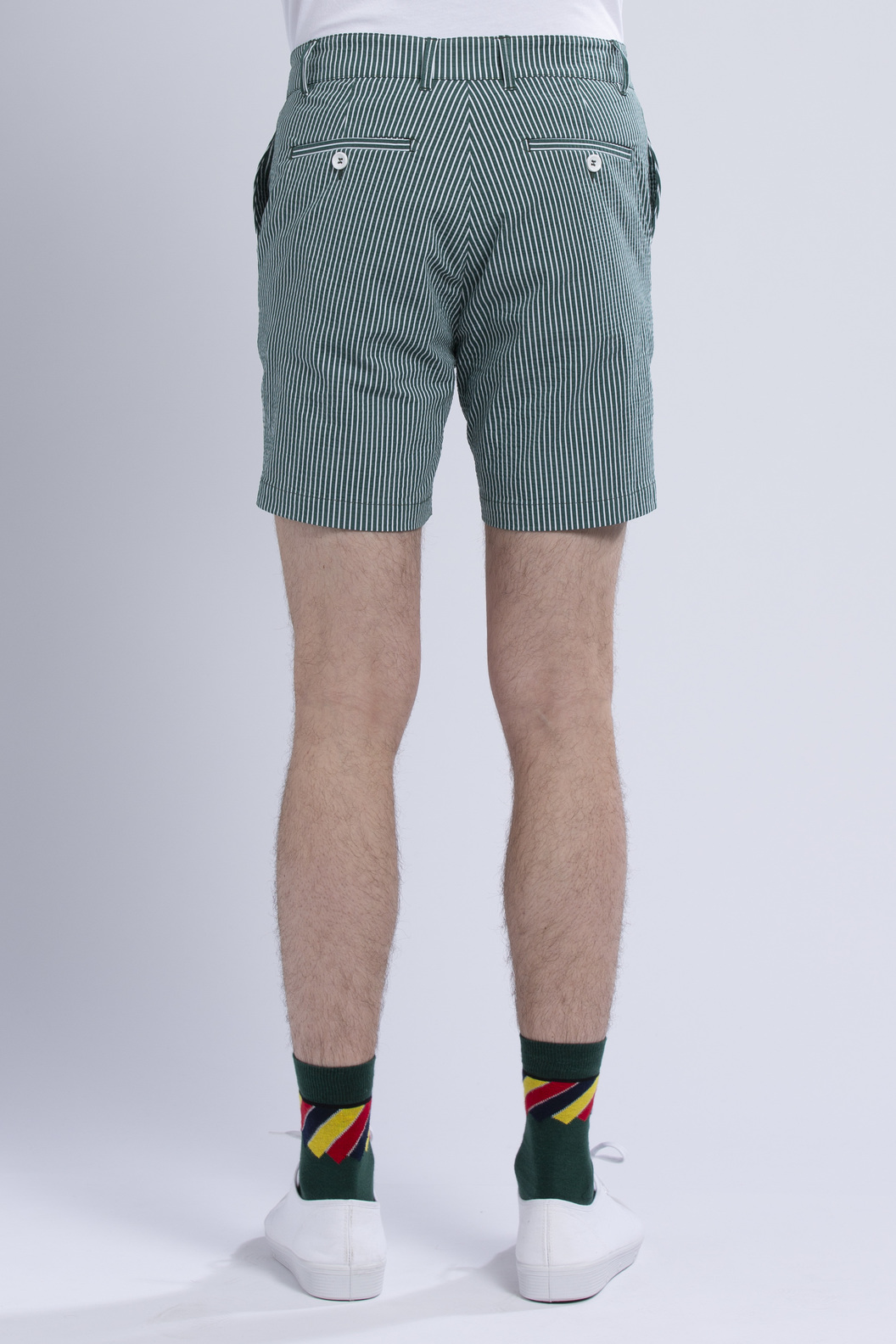 SHORTPANTS SP5 - Green stripes