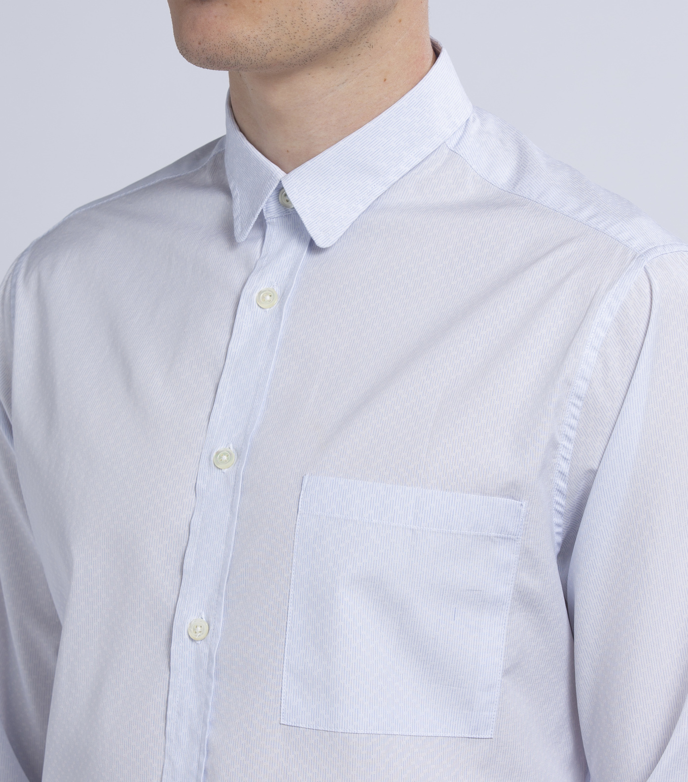 SHIRT ROSSEL - Thin stripes