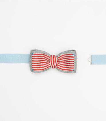 Bow tie Jules - Striped red