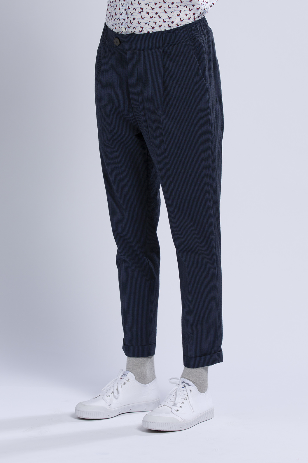 PANTS GN11 - Navy stripes