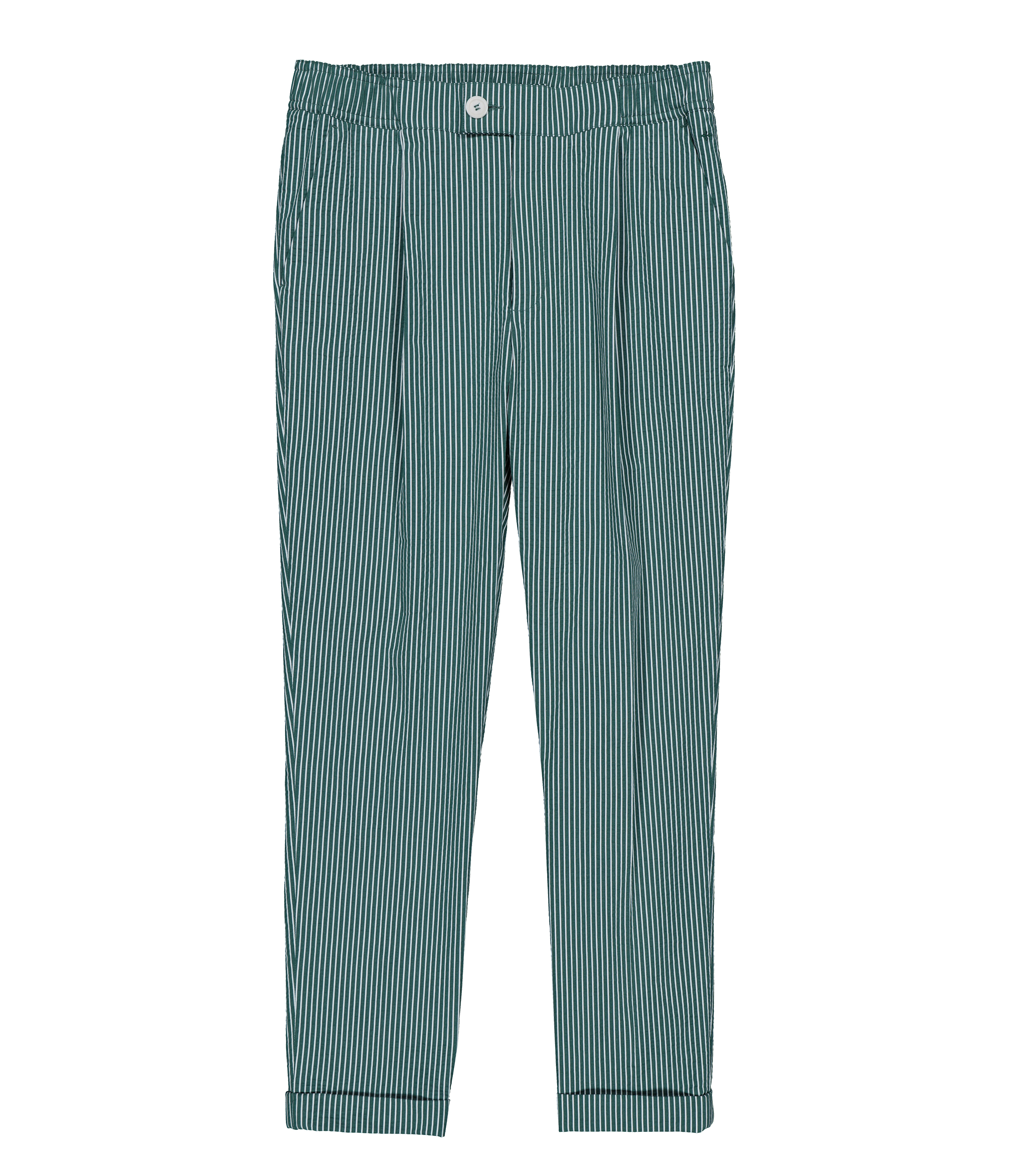 PANTS GN11 - Green stripes