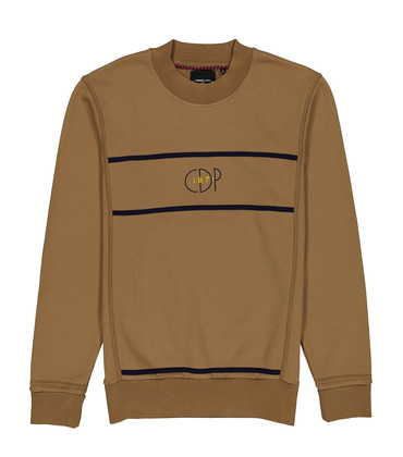 SWEAT MONDRIAN - Camel