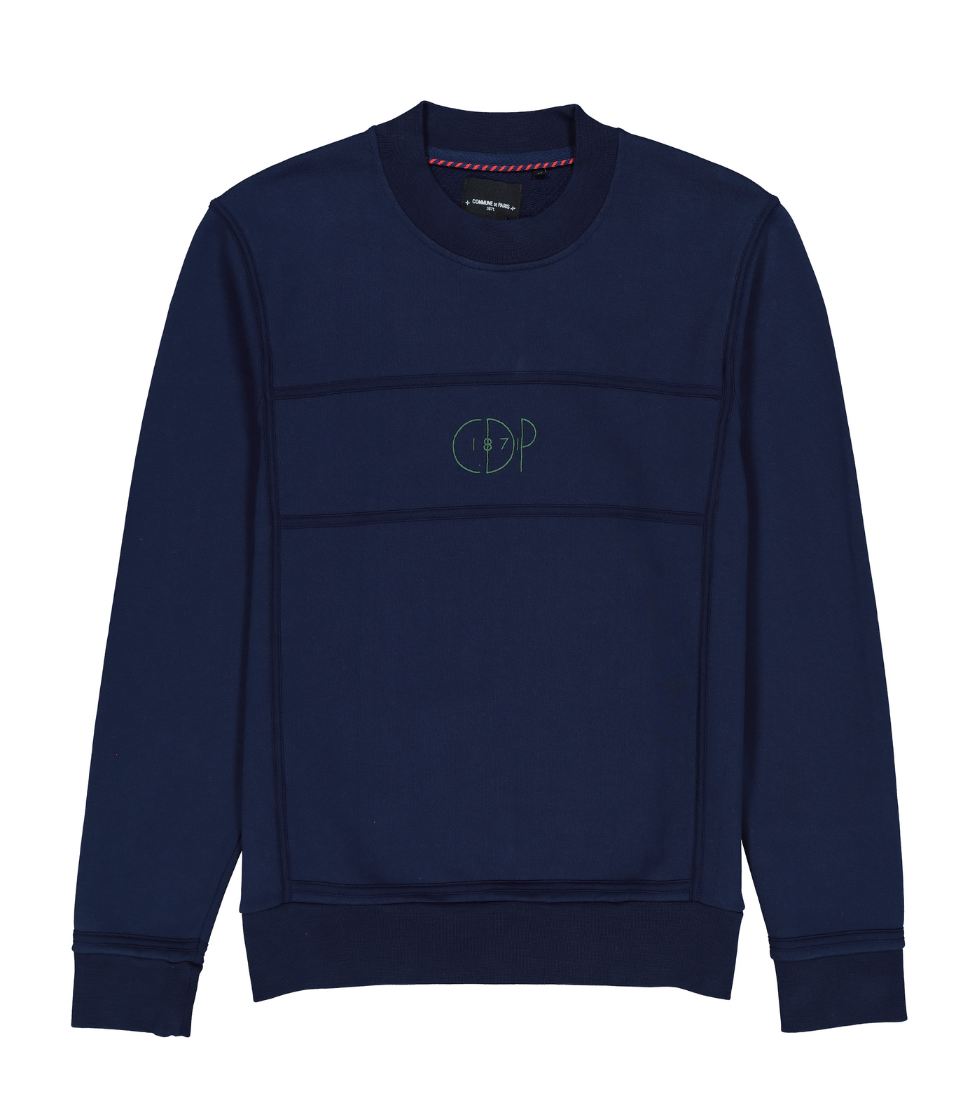 SWEAT MONDRIAN - Navy