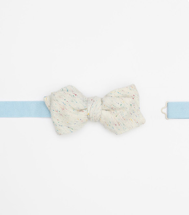 Bow tie Léo - Marl white