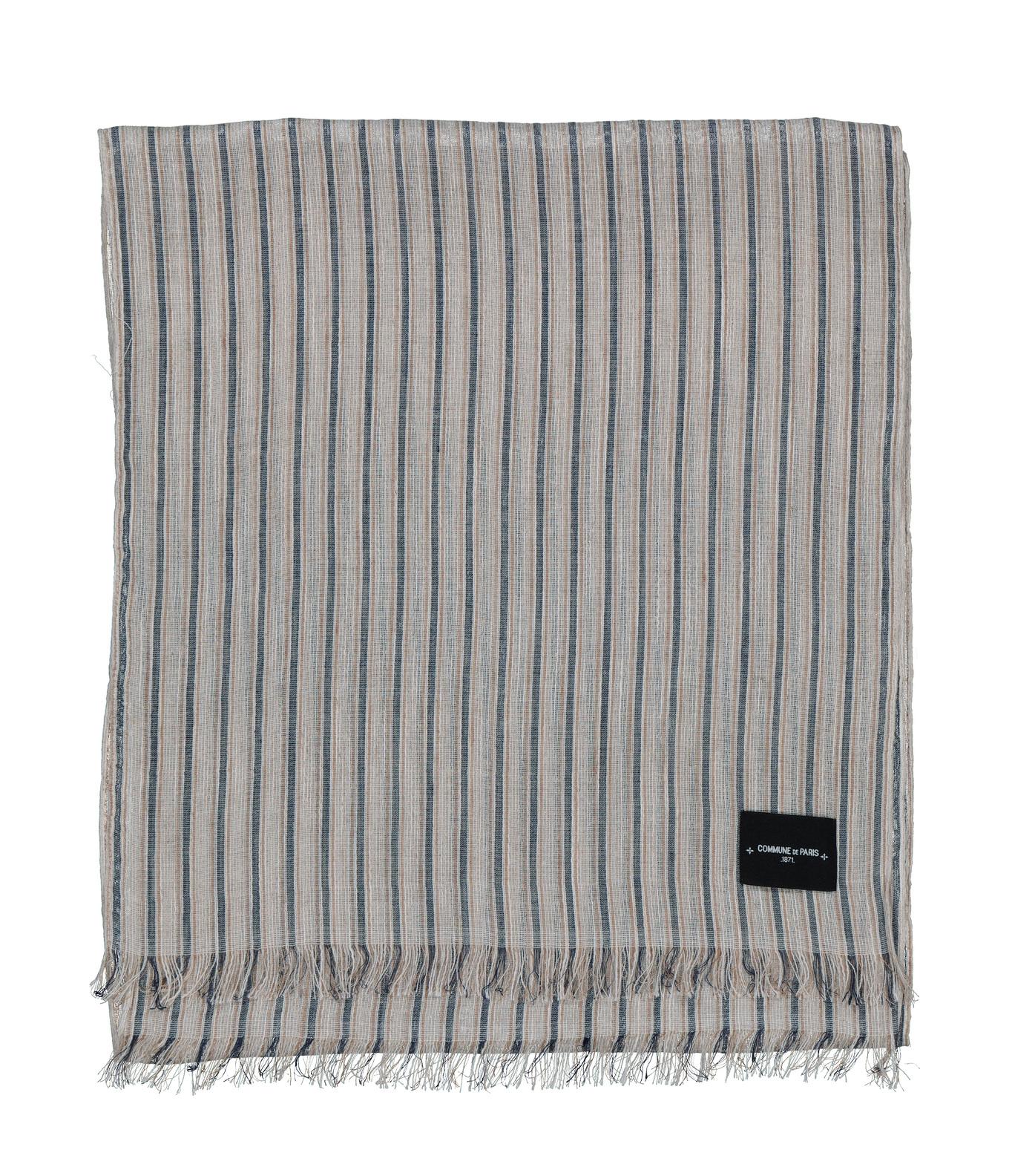 SCARF JOURDAIN - Blue stripes