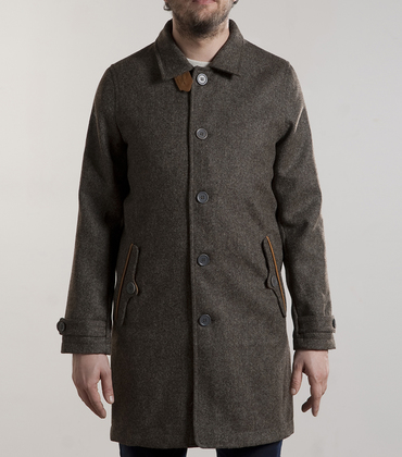 Coat Amouroux - Grey tweed