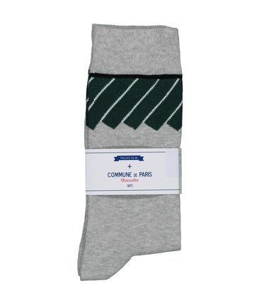 CHAUSSETTES CARROUSEL - Gris chine