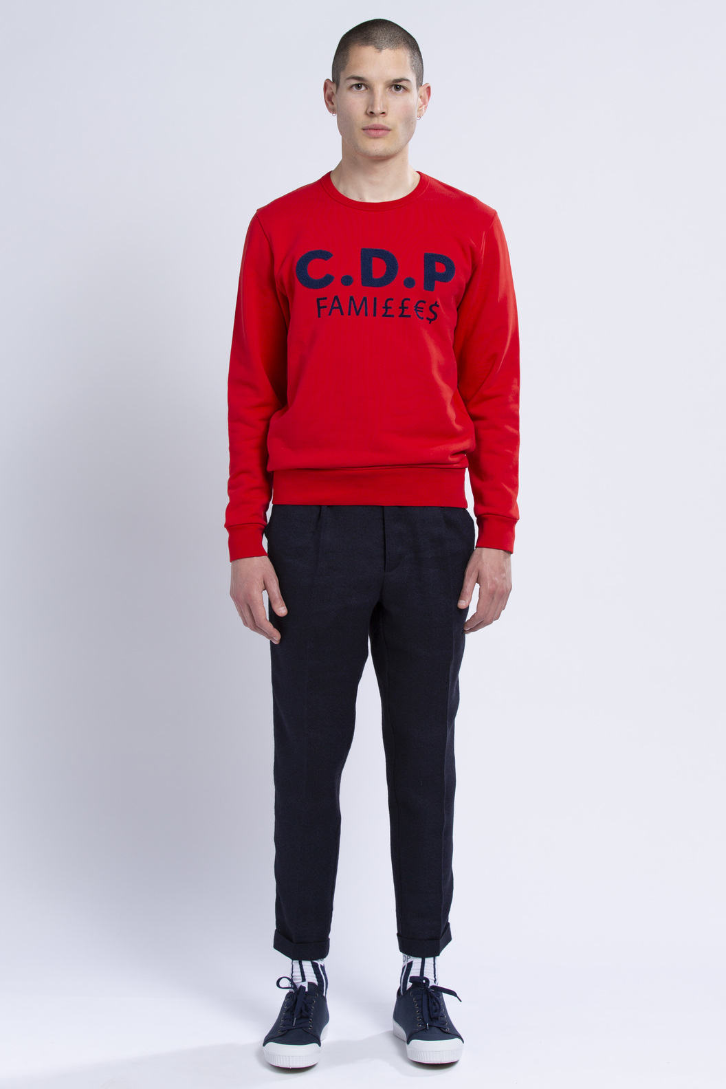 SWEAT CDP FAMILLES - Red