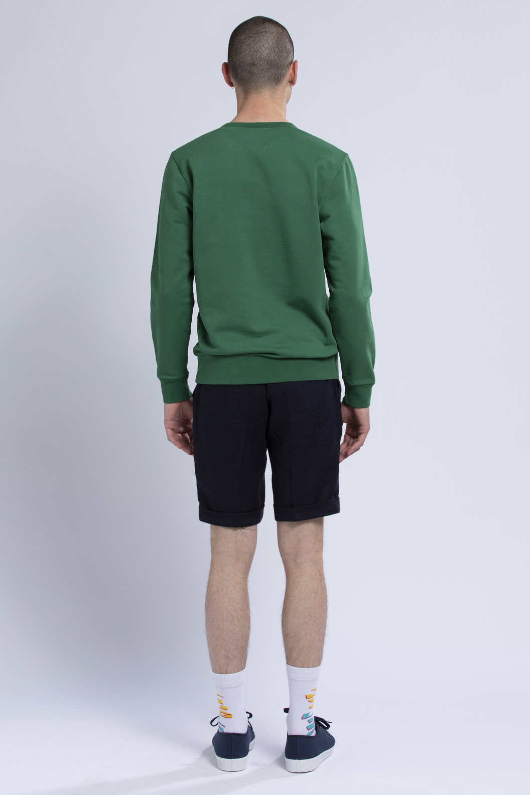 SWEAT CDP FAMILLES - Green