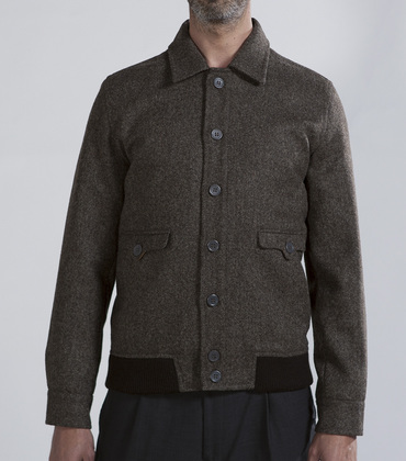 Jacket Gari - Grey tweed