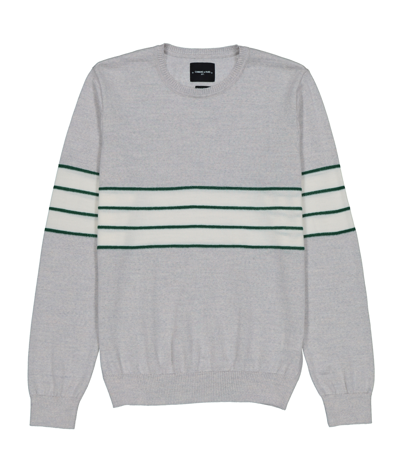 PULL VALMY - Gris chine