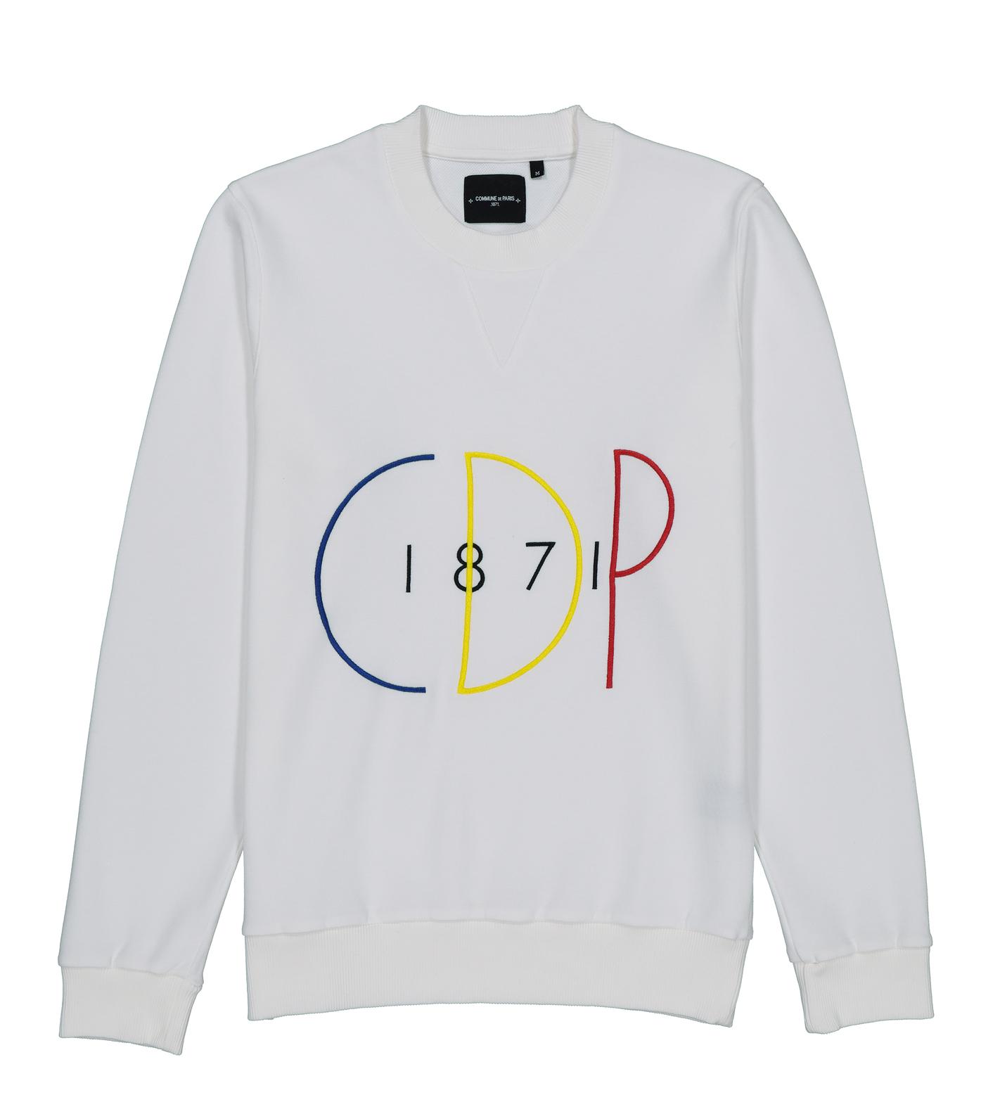 SWEAT CDP 1871 - Ivory