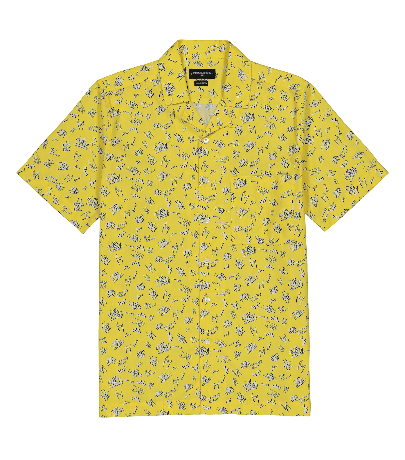 SHIRT HILO - Yellow allover