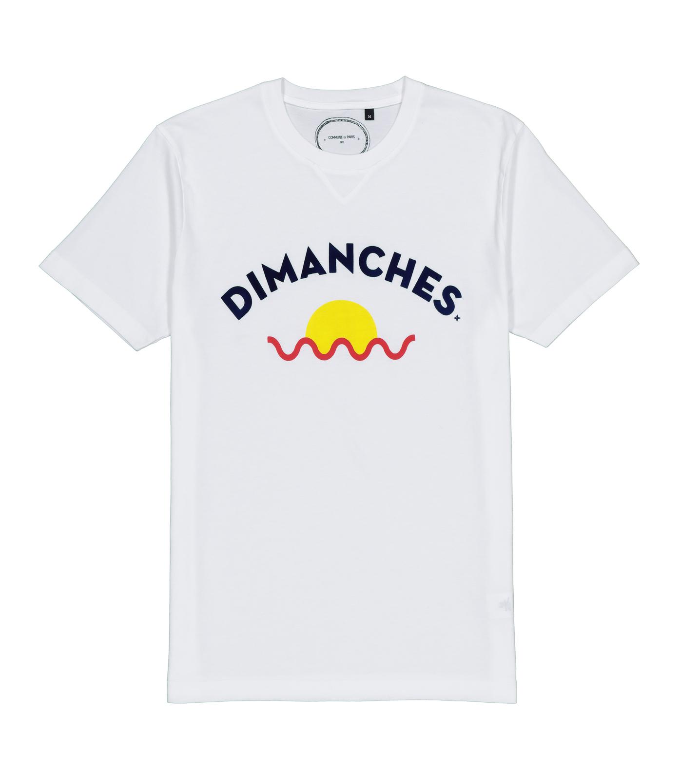 TEE DIMANCHES SUN - White