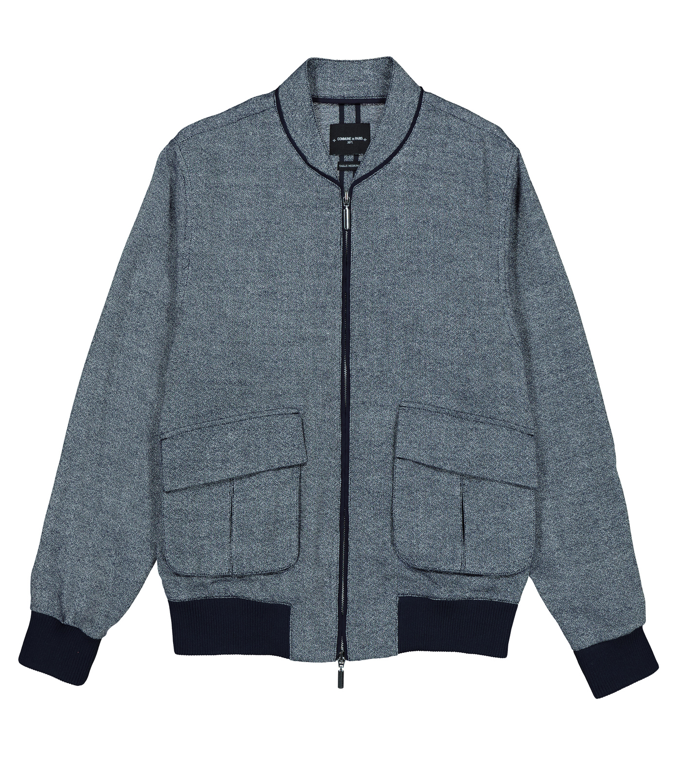 JACKET BASILE  - Marl blue