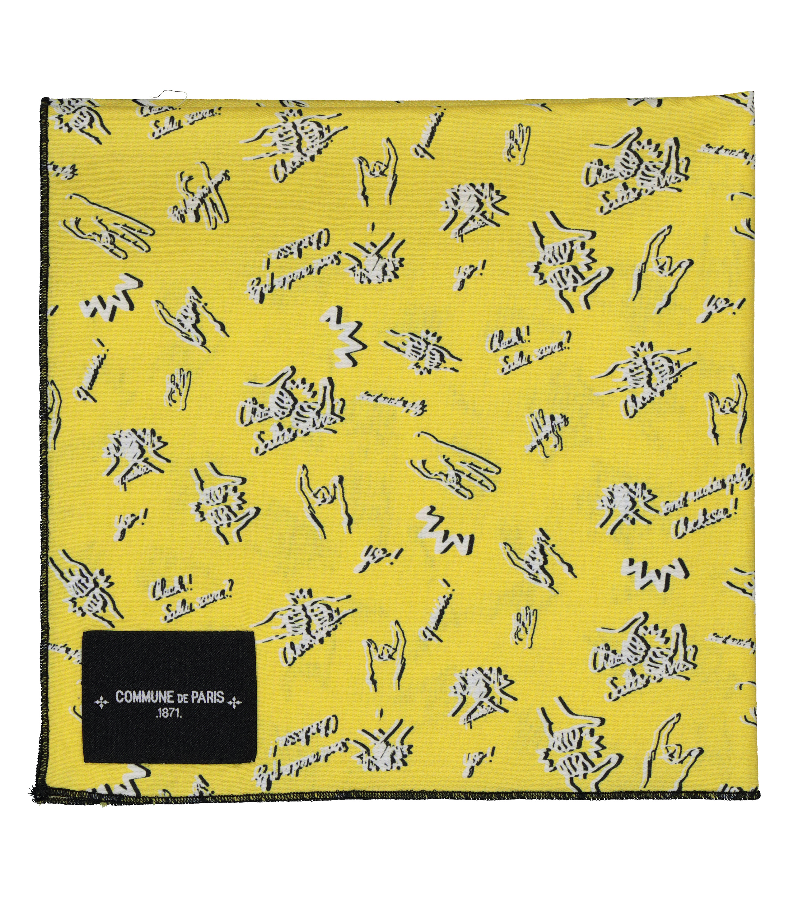 SCARF BANDANA - Yellow