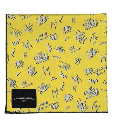 SCARF BANDANA - Yellow