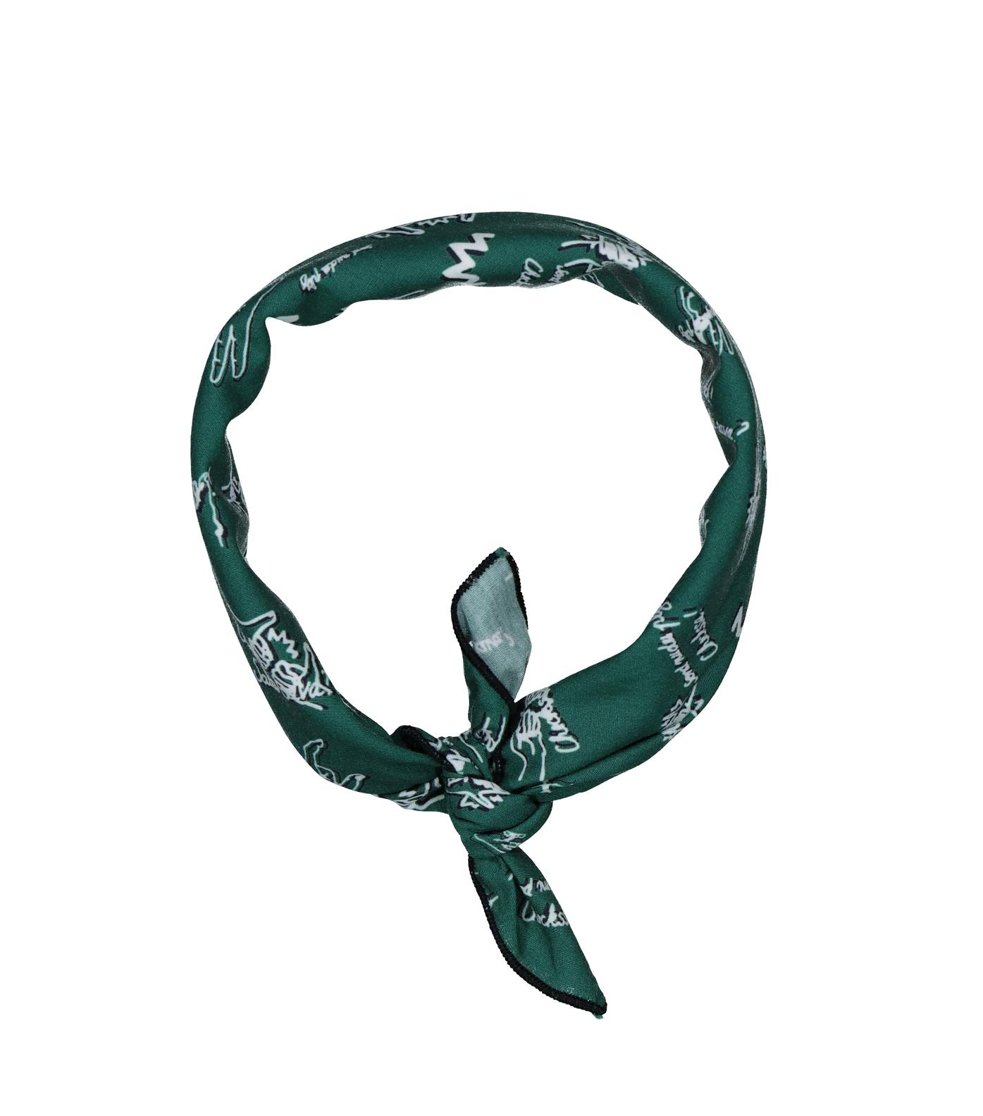 SCARF BANDANA - Green