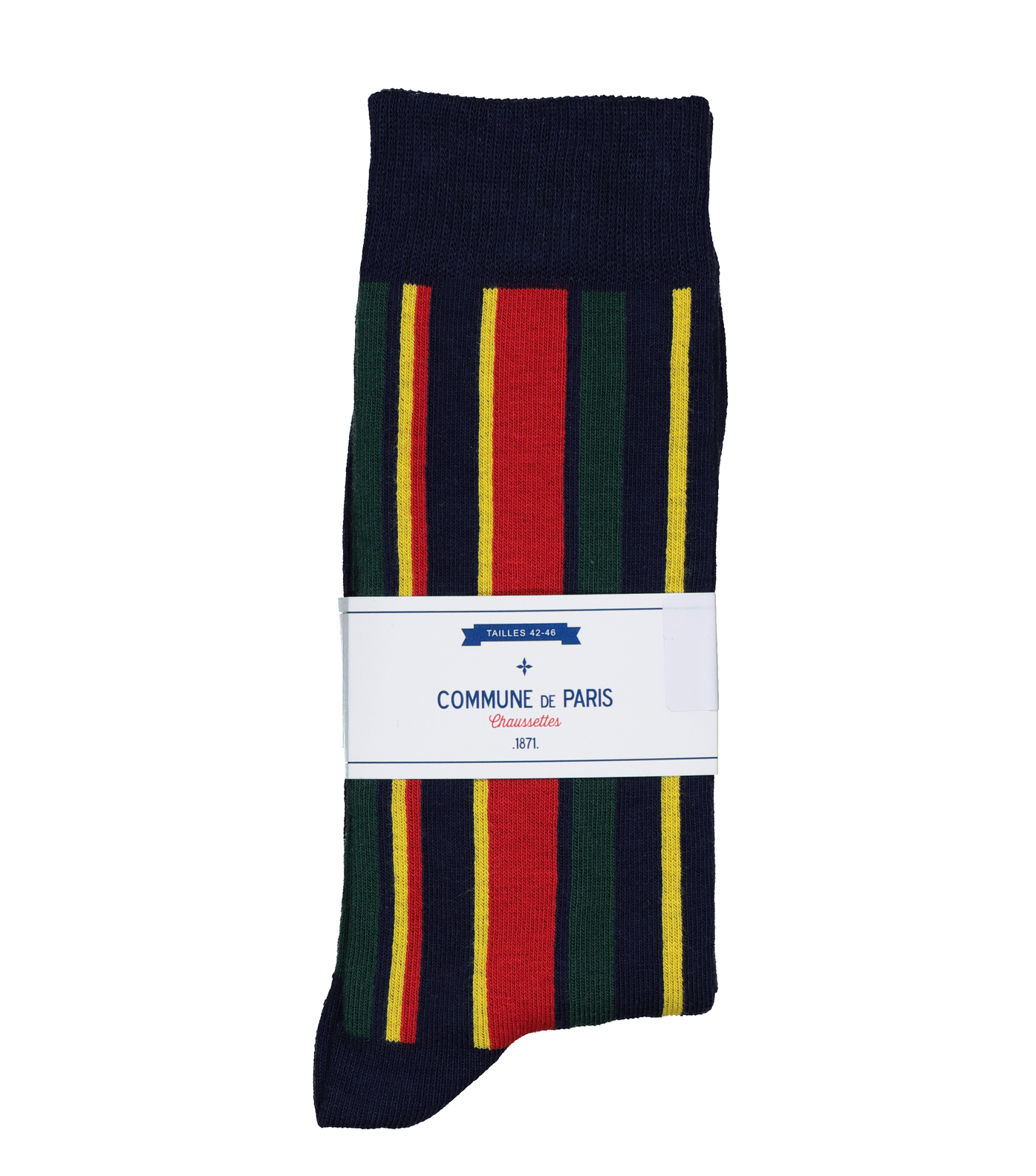 CHAUSSETTES VERTICALE - Marine