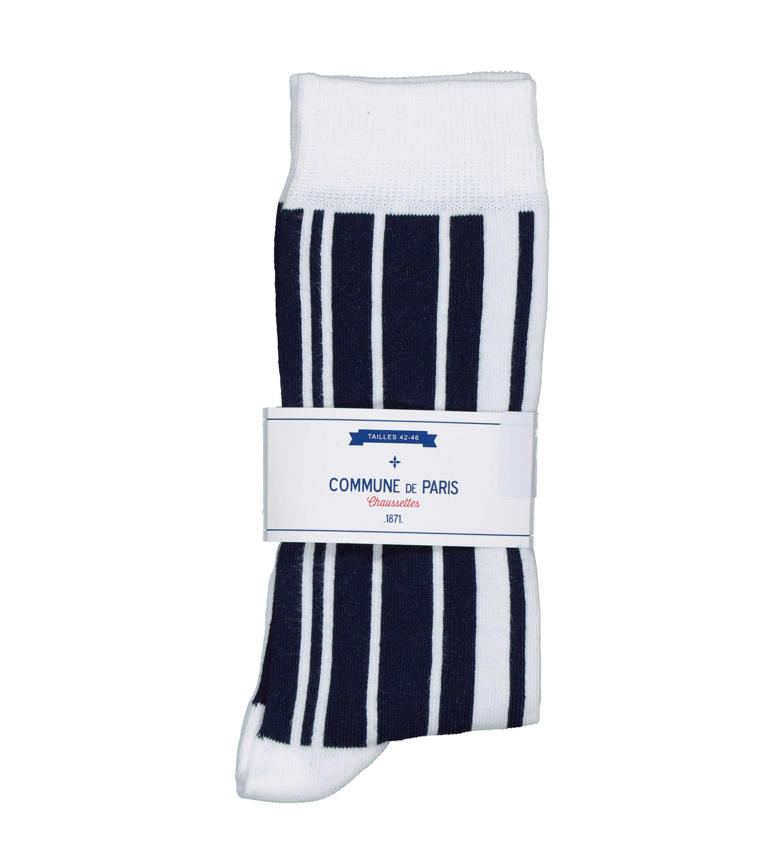 SOCKS VERTICALE - White