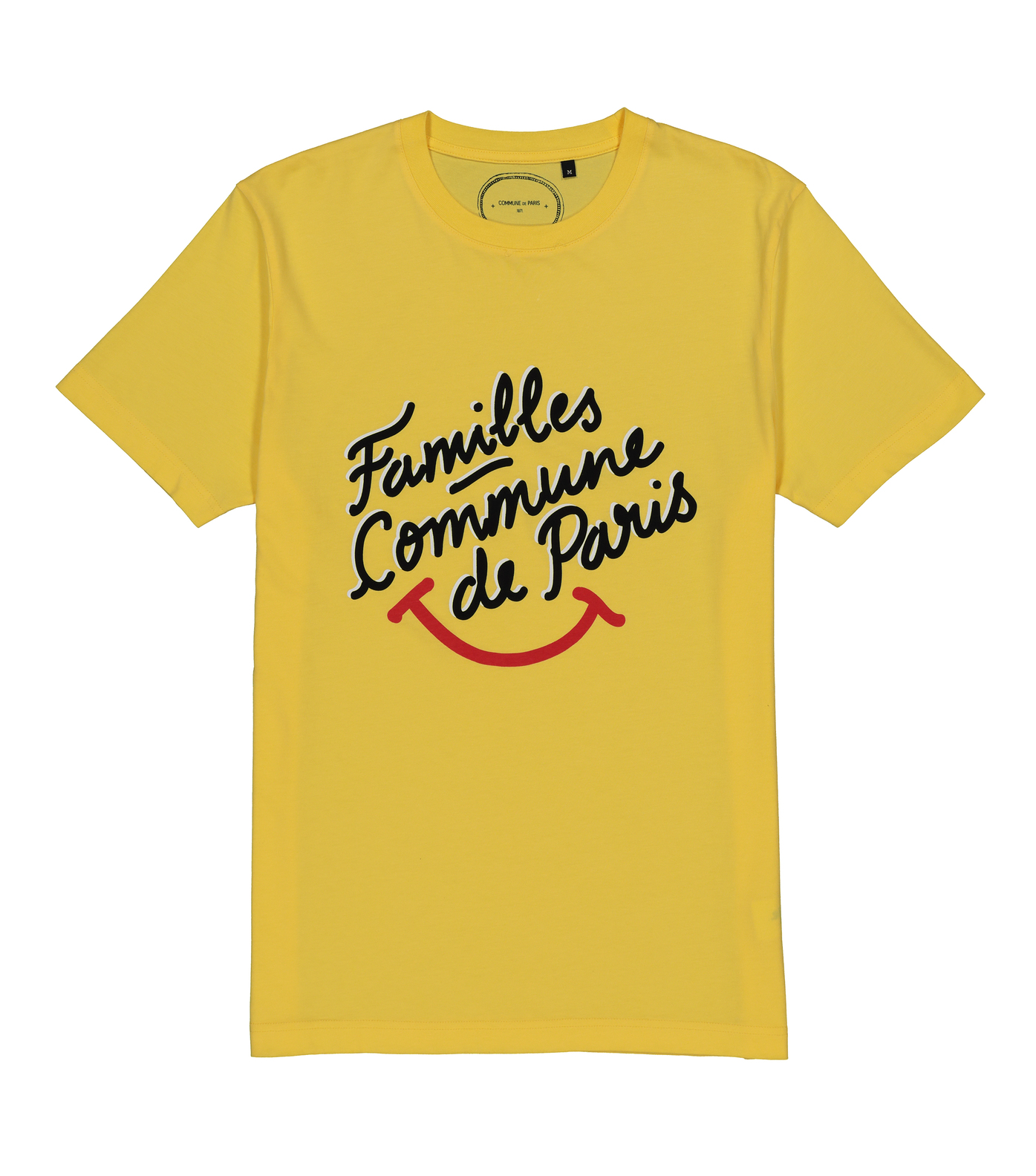 TEE FAMILLES SMILE - Yellow
