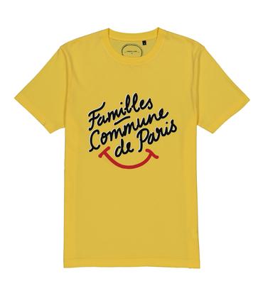 TEE FAMILLES SMILE - Yellow