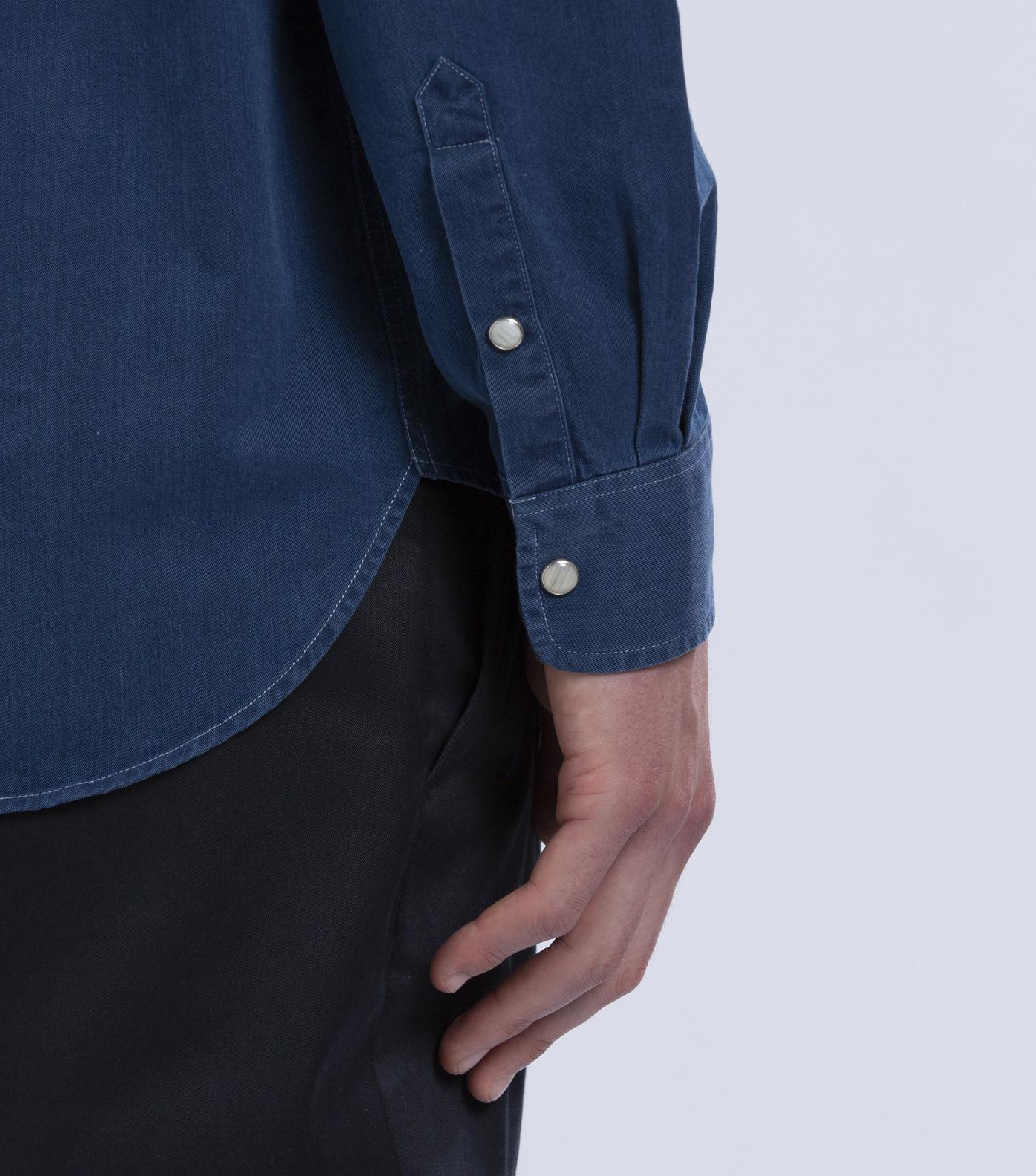 SUR-CHEMISE BLANQUI - Bleu jean