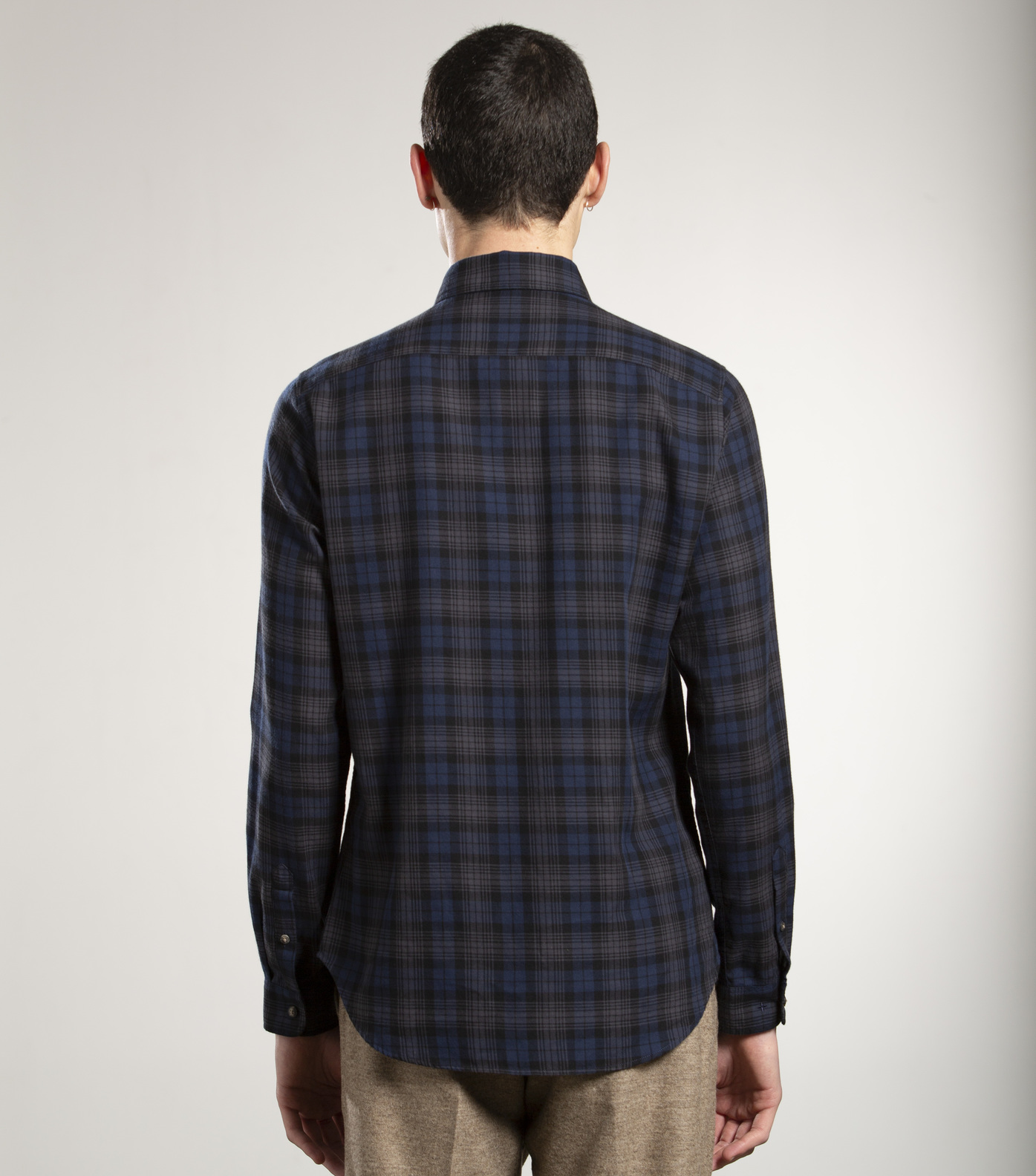 SHIRT ROSSEL - Blue checks