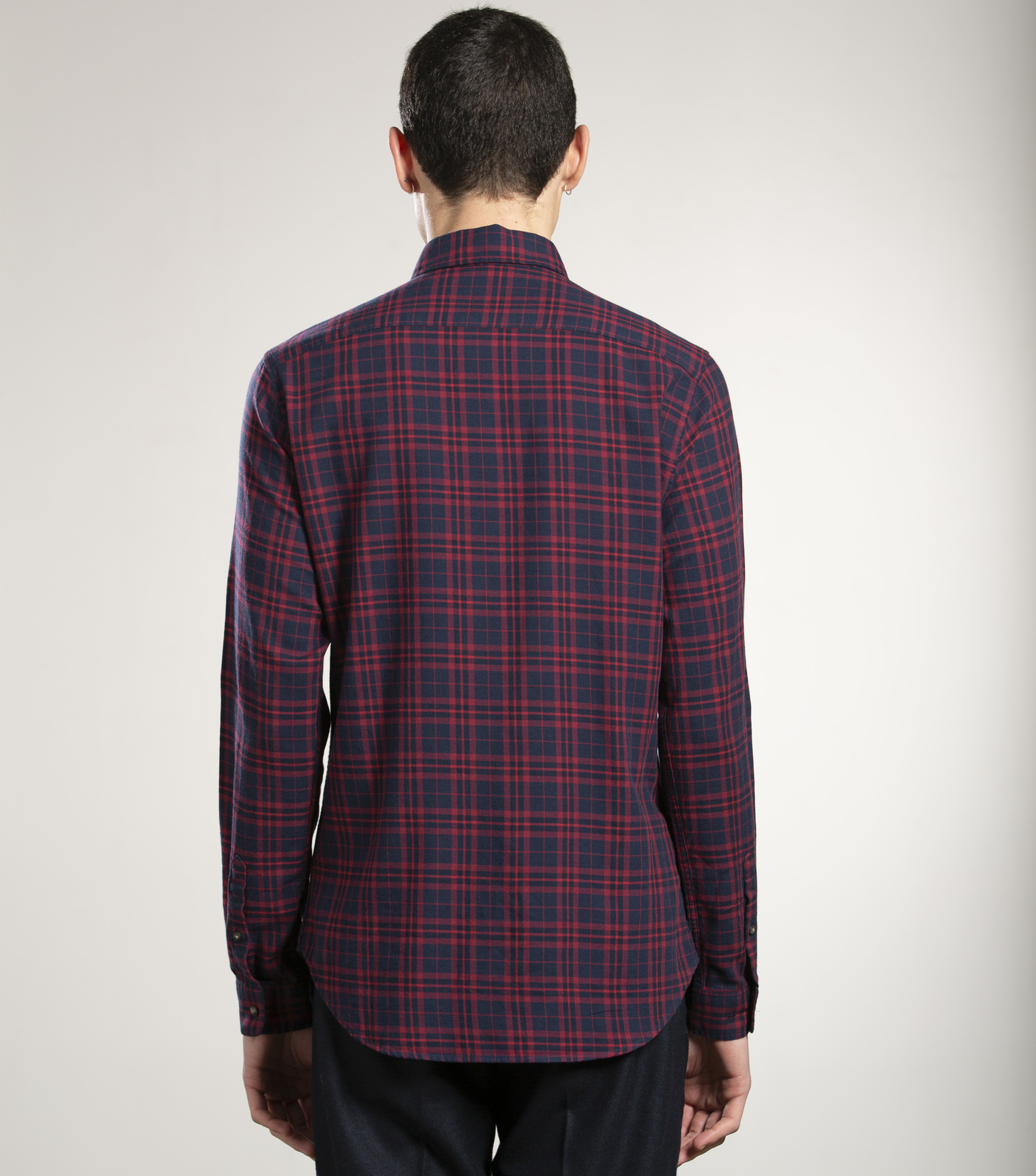 SHIRT ROSSEL - Red checks