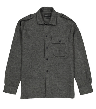 OVERSHIRT LEONCE - Grey