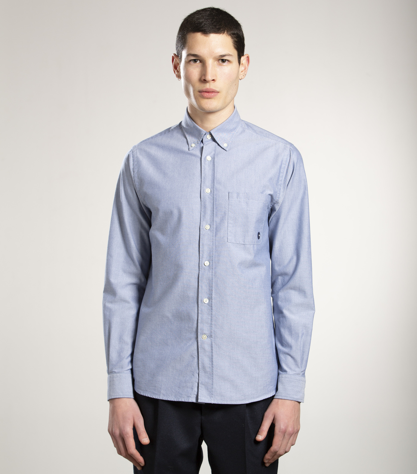 SHIRT EUDES-B - Blue