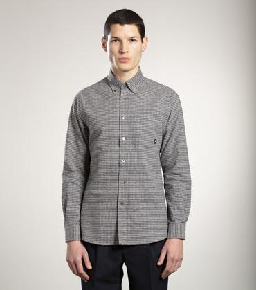 SHIRT EUDES-B - Grey checks