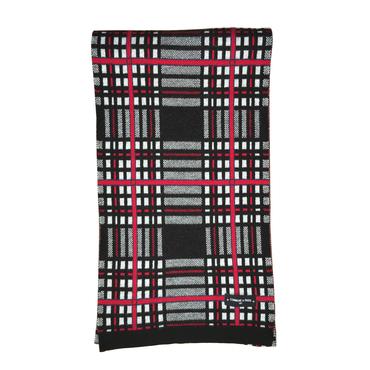 SCARF ARLON - Black tartan