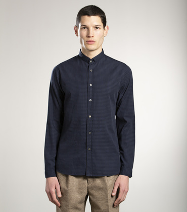 SHIRT LISSAGARAY - Navy