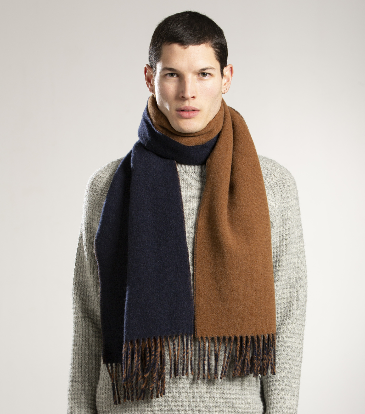 SCARF PUDRA - Camel