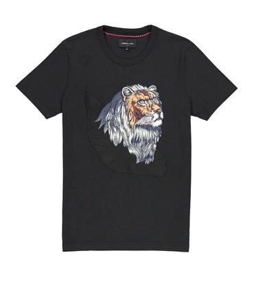 TEE LE LION - Noir