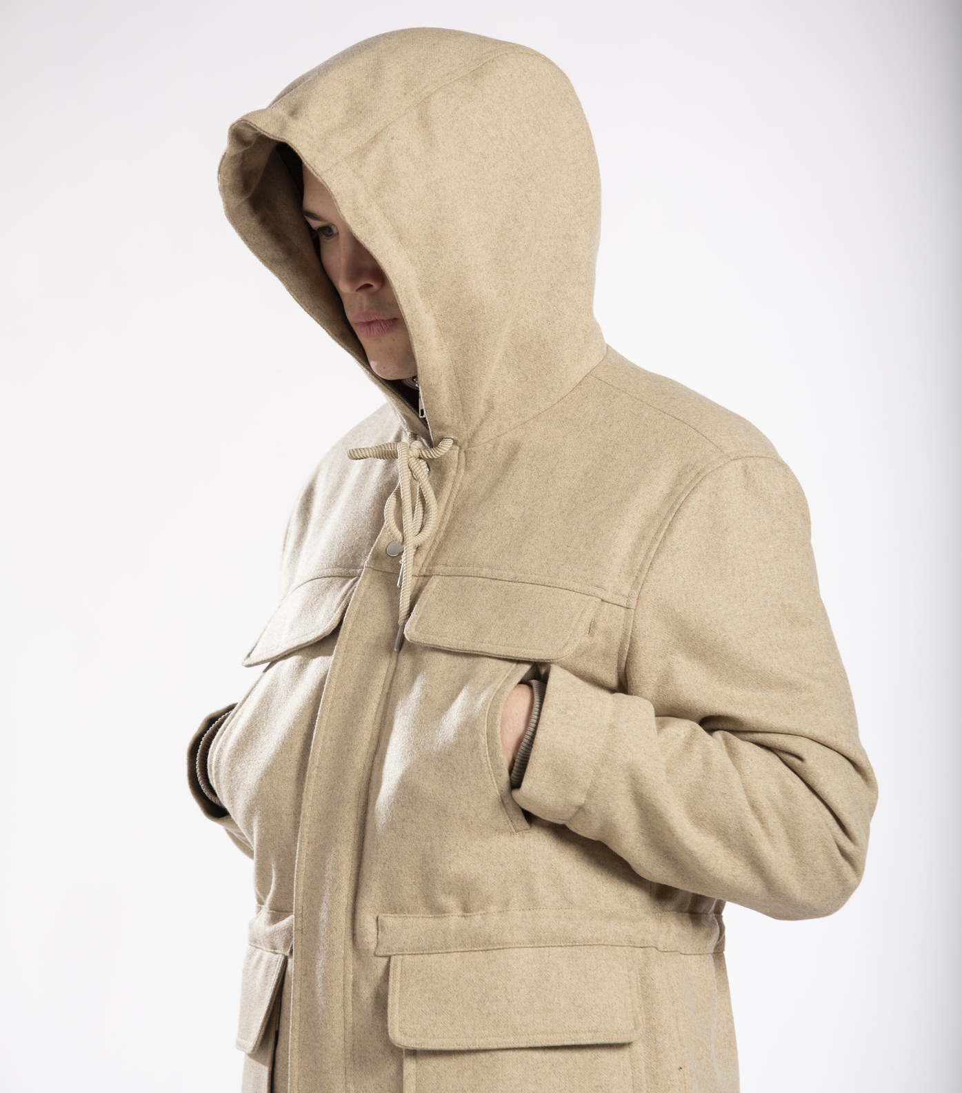 PARKA MARTIAL - Sable