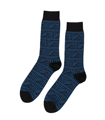 SOCKS RAVE - Blue