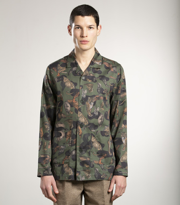 INDOOR OVERSHIRT - Faune allover