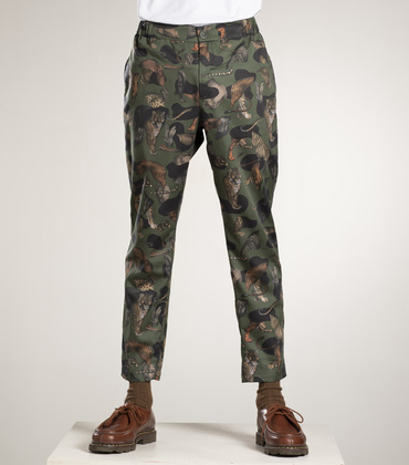 INDOOR PANTS - Faune allover